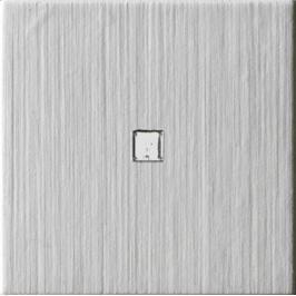 Dekor Imola Blown světle šedá 10x10 cm, mat BLOWN10G1