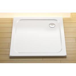 Sprchová vanička čtvercová Ravak Chrome 80x80 cm litý mramor XA044401010