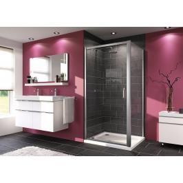 Sprchové dveře 100x190 cm Huppe Next chrom matný 140705.069.322