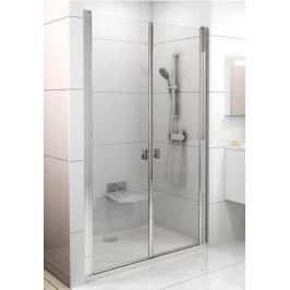 Sprchové dveře 100x195 cm Ravak Chrome bílá 0QVAC10LZ1