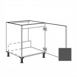 Kuchyňská skříňka dřezová spodní Naturel Terry24 60x72x56 cm břidlicová šedá 334.SPUD60.R