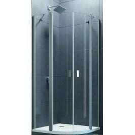 Sprchový kout čtvrtkruh 100x190 cm Huppe Design Pure chrom lesklý 8E1703.092.321