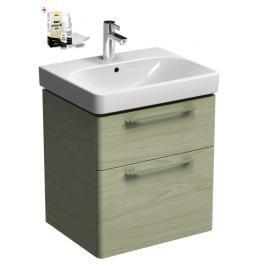 Koupelnová skříňka s umyvadlem Kolo Kolo 60x71 cm jasan bělený SIKONKOT60JB