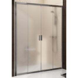 Sprchové dveře 140x190 cm Ravak Blix chrom matný 0YVM0U00Z1