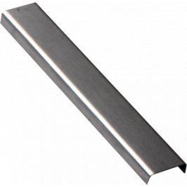 Lišta dekorační nerez kartáčovaná, délka 100 cm, výška 6,5 mm, šířka 20 mm, LACERO2