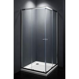 Sprchový kout čtverec 90x90x185 cm Multi Basic chrom lesklý SIKOMUQ90CRT