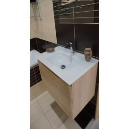 Koupelnová skříňka s umyvadlem Naturel Ancona 60x46 cm akácie ANCONAS60Z