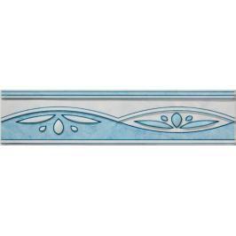 Listela Multi Laura modrá 6x25 cm lesk WLAGF054.1