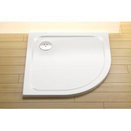Sprchová vanička čtvrtkruhová Ravak Chrome 90x90 cm litý mramor XA247701010