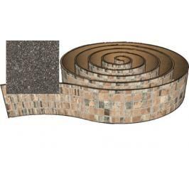 Hrana olepovací Naturel 200 cm granit 115.9112.2M