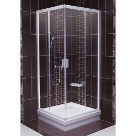 Sprchový kout čtverec 90x90x190 cm Ravak Blix chrom matný 1LV70U00Z1