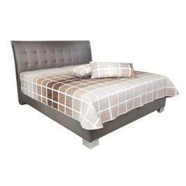 Čalouněná postel Sára 180x200 Coffee - BLANAŘ