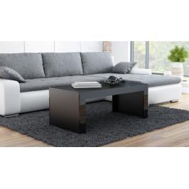 Konferenční stolek Tess černá/černá - HALMAR