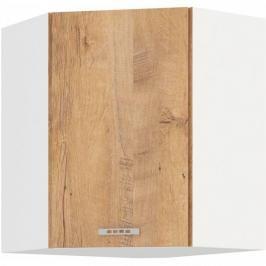 Sára horní rohová skříňka 60/60 dub lefkas - FALCO