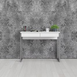 Psací stůl Function Plus 80122 bílý lesk - TVI