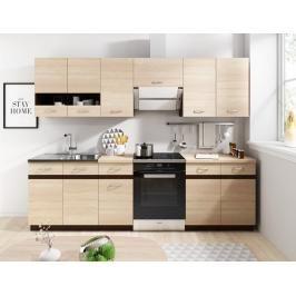 Kuchyně Lexus 180/240 dub sonoma světlá - FALCO