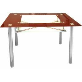 Jídelní stůl Cristal skleněný vínový - FALCO
