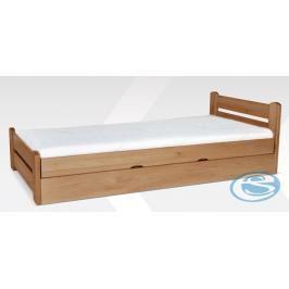 Dřevěná postel Relax 90x200 - GB
