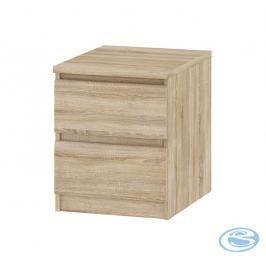 Bílý noční stolek Naia 71069 - TVI