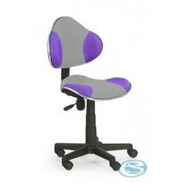 Dětská židle Flash Q-G2 šedo-fialová - FALCO