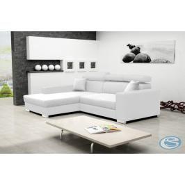 Rohová sedací souprava Mexico de Lux bílá - FALCO