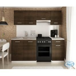 Kuchyňská linka Mini 180/120 wenge - FALCO