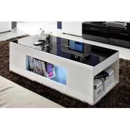 Konferenční stolek Panda bílý/černý - FALCO