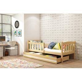 Dětská postel Kubus 80x160 borovice - BM