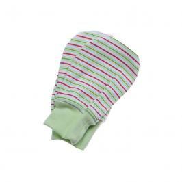 ANTONY FASHION - Kojenecké rukavičky (pásek - zelené)