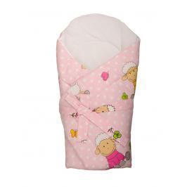 ANTONY FASHION - Zavinovačka s výztuží - ovečky - růžová
