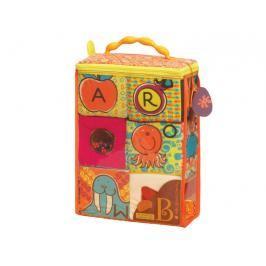 B-TOYS - Textilní kostky ABC Block Party