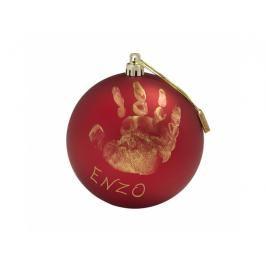 BABY ART - Vánoční koule Christmas Ball Mat Red