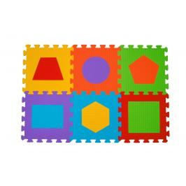 BabyOno - Puzzle pěnové písmena 6 ks, 6m+