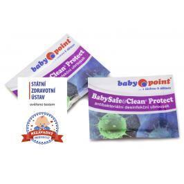 BABYPOINT - Dezinfekční vlhčené utěrky BabySafe & Clean Protect
