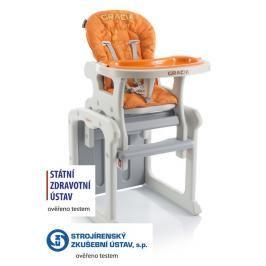 BABYPOINT - Jídelní židle Gracia - oranžová