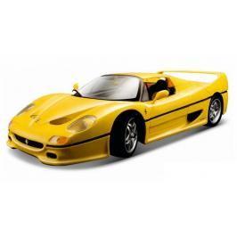 BBURAGO -  F50 (Closed Top) 1:18 Ferrari Race & Play