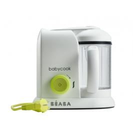 BEABA - Parní vařič + mixér BABYCOOK SOLO neonový