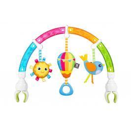BENBAT - Hrazdička na autosedačku Dazzle Rainbow Play-Arch duha