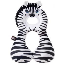 BenBat - Nákrčník s opěrkou hlavy 1-4 roky - zebra