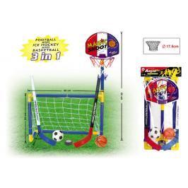 BESTLUCK - 3V1 Basketbal, Fotbal, Hokej
