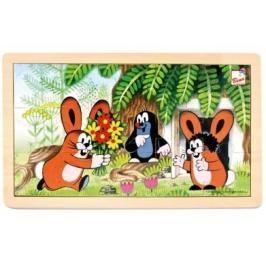 BINO - 13800 Puzzle Krtek a zajíčci