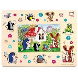 BINO - 13802 Puzzle Krteček a přátelé