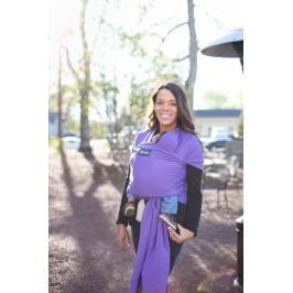 BOBA - Nosič dětí / šátek Boba Wrap - Purple