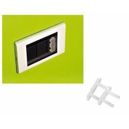 BREVI - 323 Plastová ochrana elektrických zásuvek