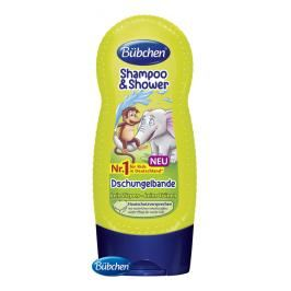 BÜBCHEN - Kids šampon a sprchový gel 2v1 Partička z džungle 230 ml