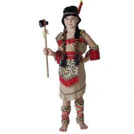 CASALLIA - Karnevalový kostým Indiánka s návleky M