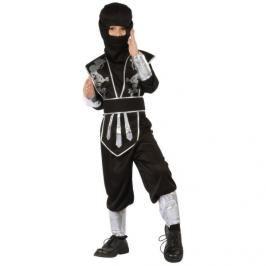 CASALLIA - Karnevalový kostým Ninja s maskou černý L