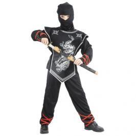 CASALLIA - Kostým Ninja s maskou stříbrný S