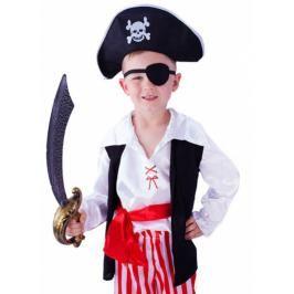 CASALLIA - Karnevalový kostým Pirát s páskou na oko M