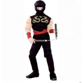 CASALLIA - Kostým Svalnatý Ninja M